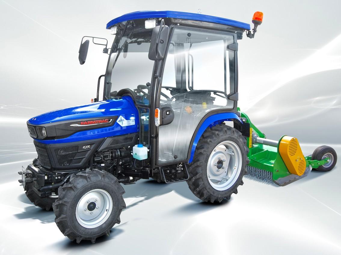 Farmtrac 26 Kompakt 4WD z kabiną od 58 780 zł brutto