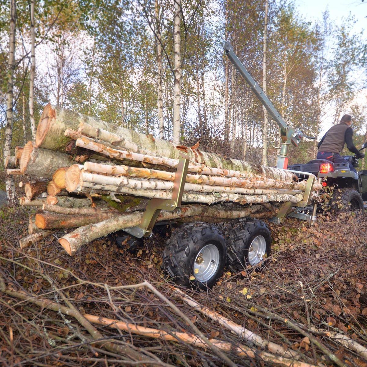 Przyczepa leśna z wywrotem Kellfri ATV PRO w cenie 6 479 zł